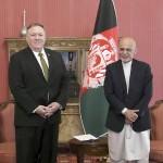 Image: Mike Pompeo, Ashraf Ghani