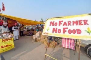 Farmers agitation at Singhu border