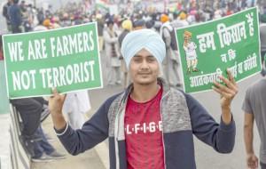 Farmers Protest at Delhi-Meerut Expressway